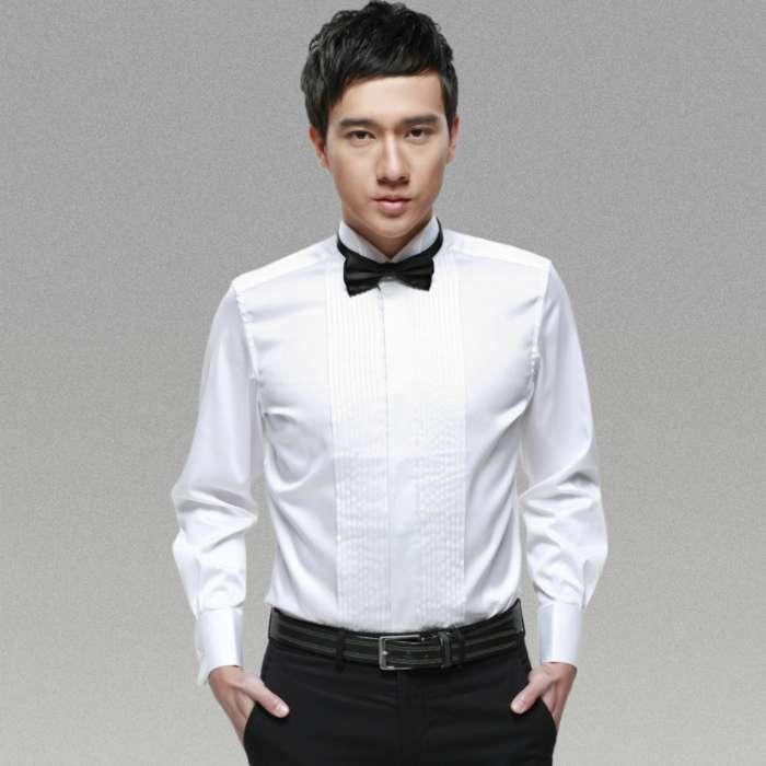 礼服翼领衬衫纸样设计有哪些步骤
