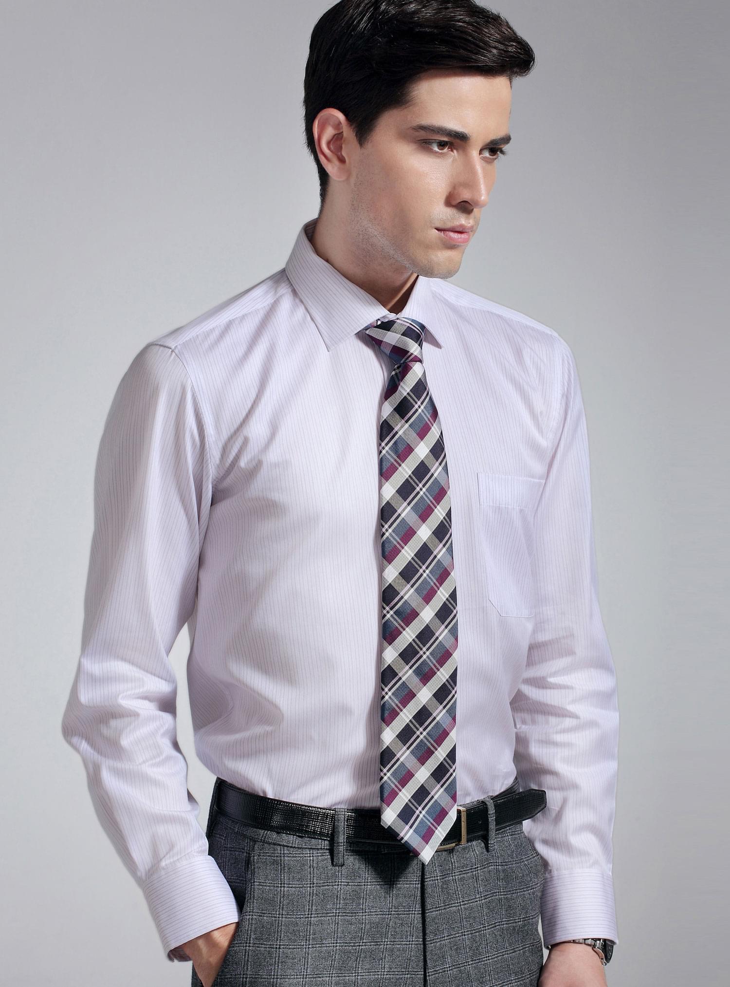 长绒棉面料定制衬衫