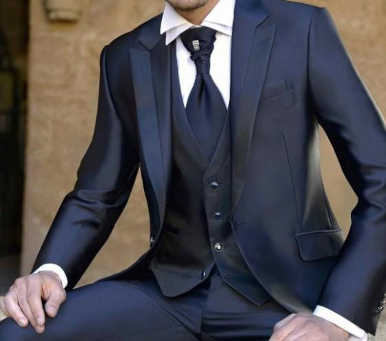 西服正装的穿着的讲究和细节图片