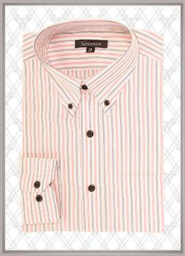 条纹衬衫定制SWN84305