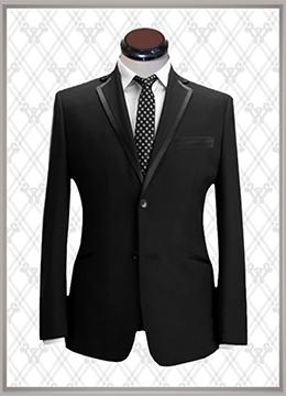02 结婚西装黑色时尚款