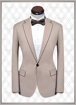 05 结婚西装米色时尚款