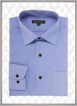 09 蓝色衬衫定制款