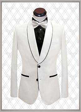 09 结婚西装白色礼服款