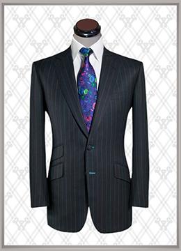 012 结婚西装条纹时尚款