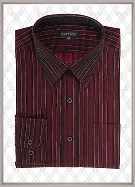 深色条纹衬衫SWN84314