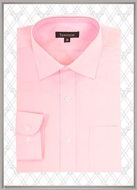 粉色衬衫订制SWN84315
