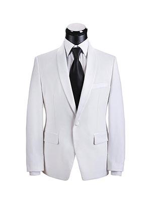 纯白色新郎礼服SWN84243