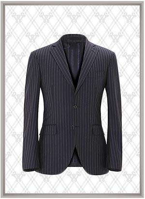 条纹套装西服SWN84644