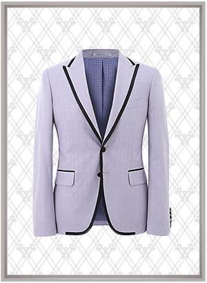 萨维诺西服款式SWN84653