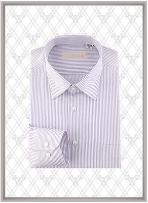 条纹衬衫订制SWN84326