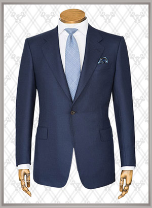 016 结婚西装蓝色时尚款